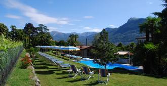 蒙塔里那酒店 - 卢加诺 - 游泳池