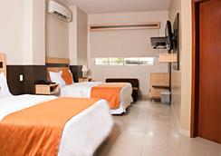 克罗纳里尔酒店 - 瓜亚基尔 - 睡房