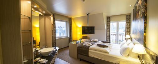 库斯班乐酒店 - 伯格(施普雷瓦尔德) - 睡房