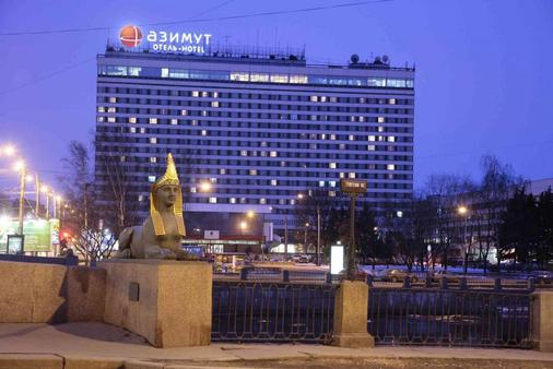圣彼得堡阿兹姆特酒店 - 圣彼德堡 - 建筑