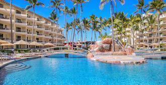 巴亚尔塔港德尔帕尔马海滩别墅度假水疗酒店 - 巴亚尔塔港 - 游泳池