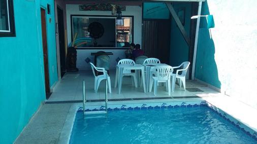 曼达拉宾馆 - 布希奥斯 - 游泳池