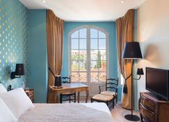 快乐文化格里马尔迪酒店 - 尼斯 - 睡房