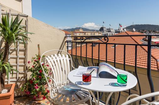 快乐文化格里马尔迪酒店 - 尼斯 - 阳台