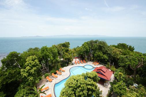 海风度假村 - Ko Pha Ngan - 游泳池
