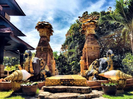 海风度假村 - Ko Pha Ngan - 户外景观