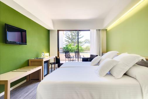 兰萨罗特岛海滩西方酒店 - 科斯塔特吉塞 - 睡房