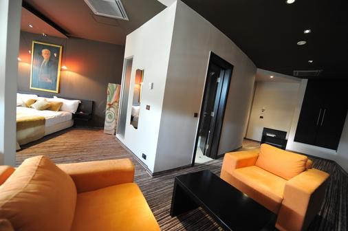 加尔尼先生设计酒店 - 贝尔格莱德 - 客厅