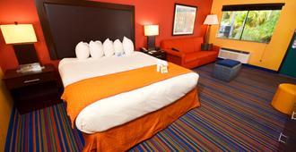 可可中心水上乐园度假酒店 - 奥兰多 - 睡房
