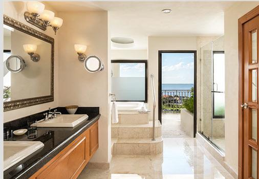 坎昆卡撒玛格纳万豪度假酒店 - 坎昆 - 浴室