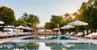 阿罗鹦鹉螺酒店 - 迈阿密海滩 - 游泳池