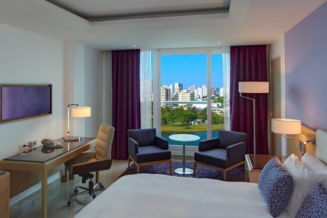 卡塔赫纳希尔顿酒店 - 卡塔赫纳 - 睡房