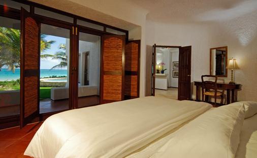 金索尔苏雷精品酒店 - 卡门海滩 - 睡房