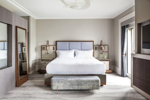 日内瓦和平酒店 - 日内瓦 - 睡房