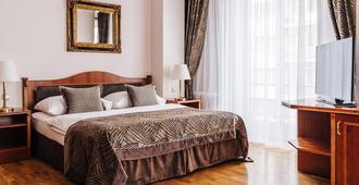 布拉格贝唯酒店 - 布拉格 - 睡房