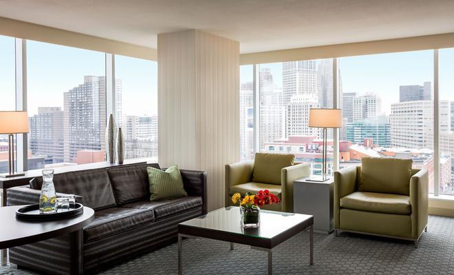 希腊城赌场酒店 - 底特律 - 客厅