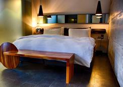 辛霍特中心酒店 - 雷克雅未克 - 睡房