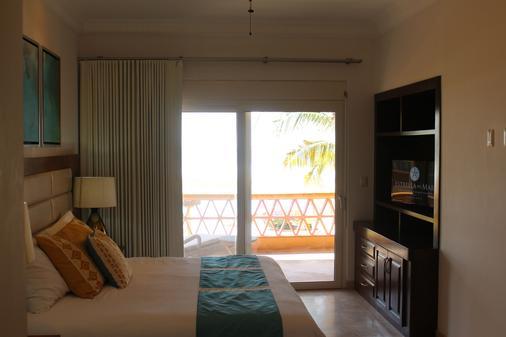 马萨特兰星海高尔夫公寓式客房海滩度假村 - 马萨特兰 - 睡房