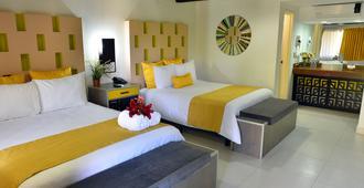 哈希亚达德尔里约酒店 - 提华纳 - 睡房
