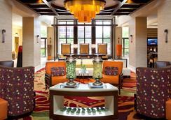 芝加哥奥黑尔万豪套房酒店 - 罗斯芒特 - 休息厅
