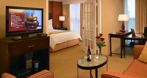芝加哥奥黑尔万豪套房酒店 - 罗斯芒特 - 睡房