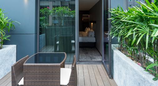 明古连30酒店 - 新加坡 - 阳台