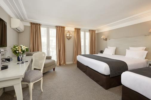卢浮蒙大拿酒店 - 巴黎 - 睡房