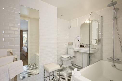 卢浮蒙大拿酒店 - 巴黎 - 浴室
