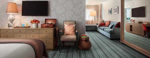 雷德伯里南海滩酒店 - 迈阿密海滩 - 客厅