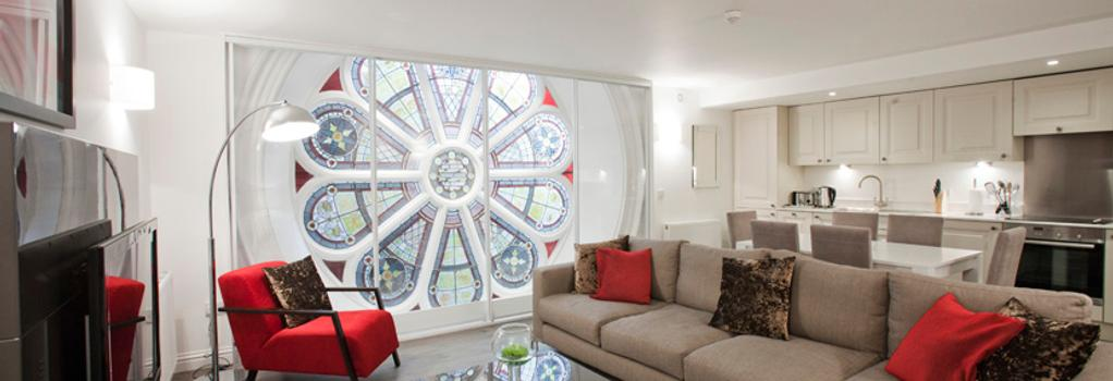 阿贝尔顿苹果公寓酒店 - 阿伯丁 - 客厅