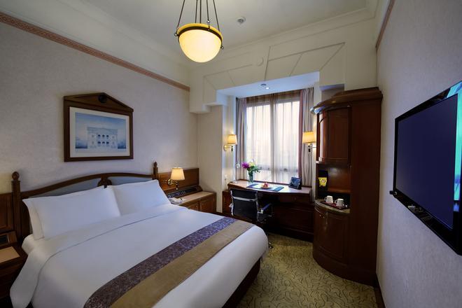 香港铜锣湾利景酒店 - 香港 - 睡房