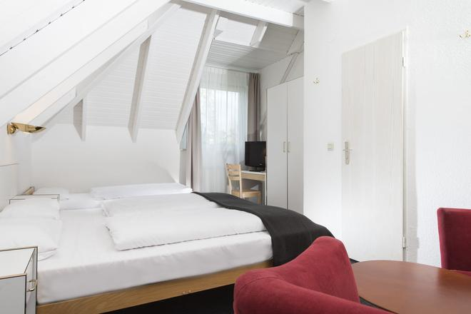 莱比锡城市酒店 - 莱比锡 - 睡房