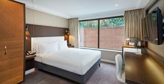 伦敦海德公园希尔顿逸林酒店 - 伦敦 - 睡房