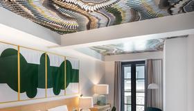 杜蒙德宅邸套房酒店 - 拉洛歇尔港 - 拉罗谢尔 - 睡房