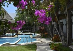 卡门玛雅酒店 - 卡门海滩 - 游泳池