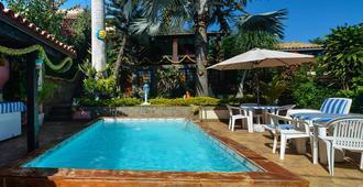 Suítes Casa do Barão - 布希奥斯 - 游泳池