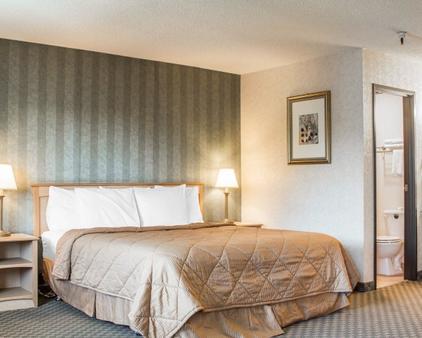 罗德威汽车旅馆 - 圣罗莎 - 睡房