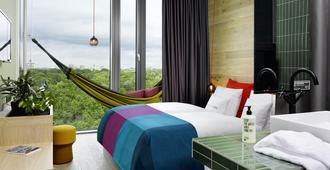 柏林比基尼25小时酒店 - 柏林 - 睡房