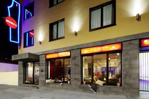 里维斯25小时酒店 - 法兰克福 - 建筑