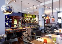 里维斯25小时酒店 - 法兰克福 - 餐馆