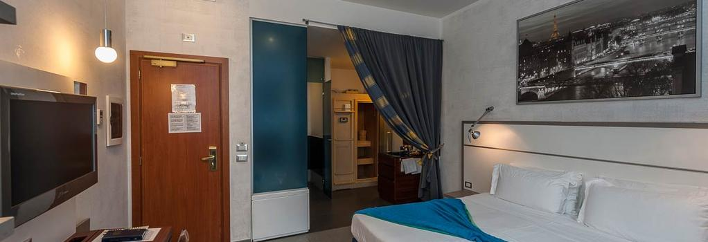 Hotel California - 罗马 - 睡房