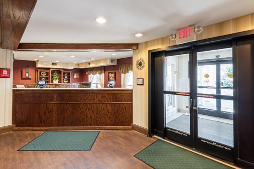 诺克斯维尔东红顶套房酒店 - 诺克斯维尔 - 柜台
