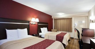 纳什维尔费尔格朗兹红顶Plus酒店 - 纳什维尔 - 睡房