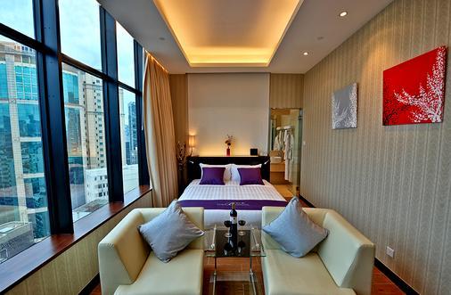 尖沙咀宝轩酒店 - 香港 - 客厅