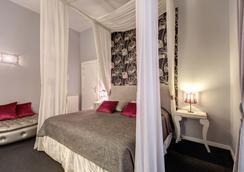布尔本住宅酒店 - 罗马 - 睡房