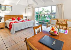 库克斯绿洲假日别墅酒店 - Rarotonga - 睡房