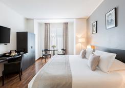 马塞娜酒店 - 尼斯 - 睡房