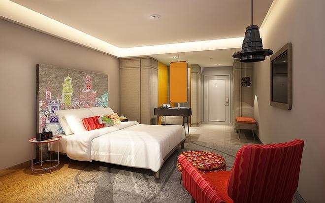 韦恩泰酒店 - 曼谷 - 睡房