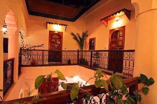 里亚德达沙巴酒店 - 马拉喀什 - 大厅