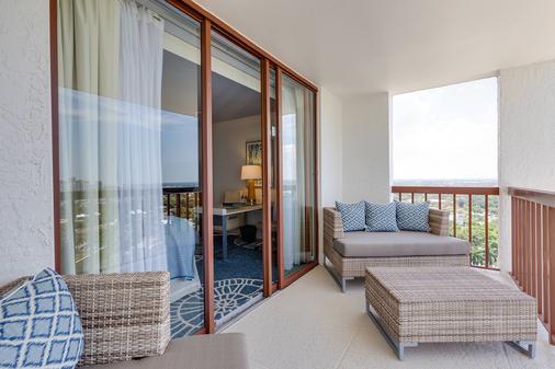 那不勒斯格兰德海滩度假酒店 - 拿坡里 - 阳台